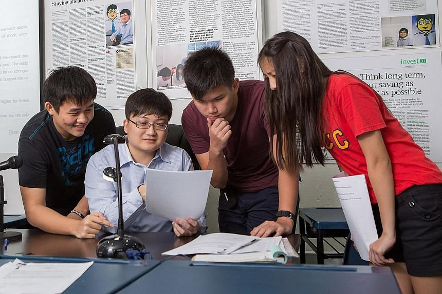 Economics tutor Anthony Fok's four-session intensive revision programme, which costs about $700, helps students spot topics by analysing past years' trends. This month's course has about 150 students and a waiting list of 15.
