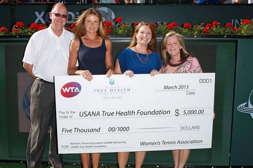 The Women's Tennis Association (WTA) has named Steve Simon (left) as the new chief executive officer of the women's tour.