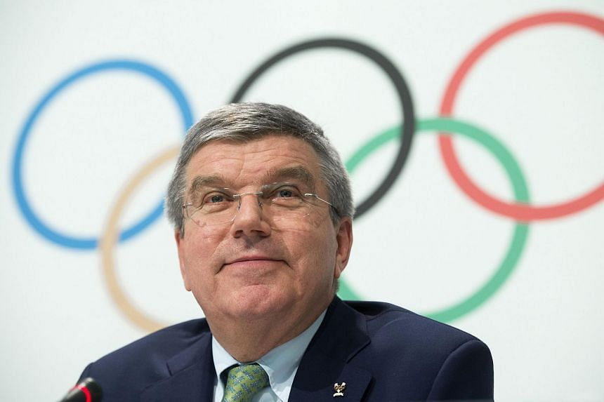 International Olympic Committee president Thomas Bach at an IOC executive board meeting in Lausanne on June 8.