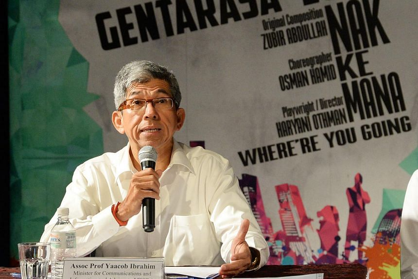 Minister for Communications and Information Dr Yaacob Ibrahim.