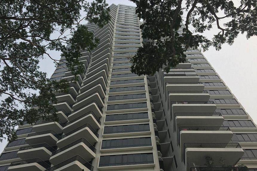 The incident is believed to have occurred at a unit on the 32nd storey.