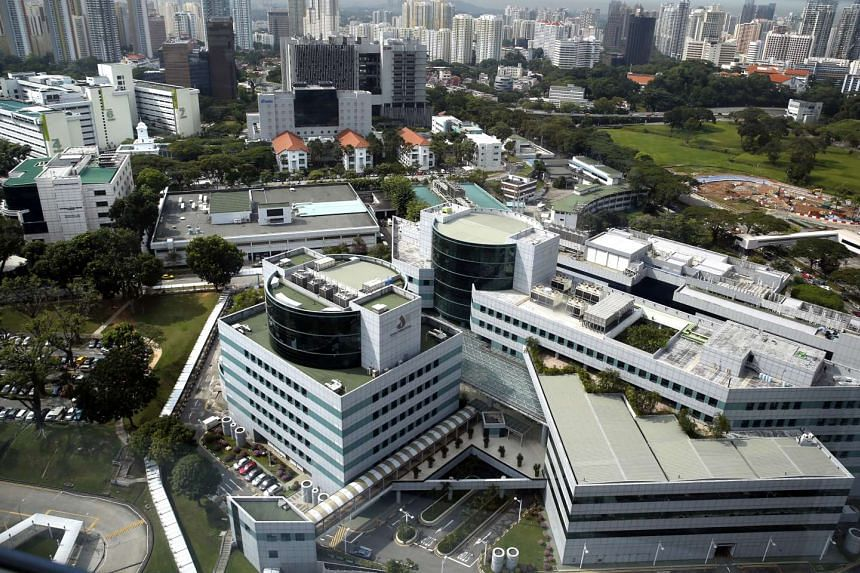 The Singapore General Hospital compound.