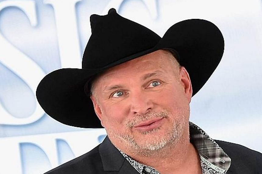 Country Music Star Garth Brooks.