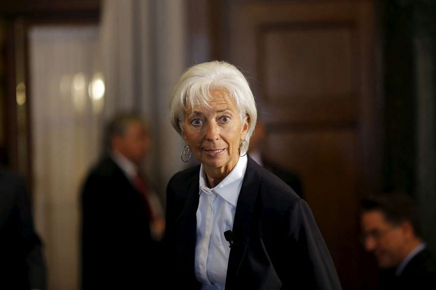 International Monetary Fund managing director Christine Lagarde attending the Council of the Americas meeting in Washington on Sept 30, 2015.