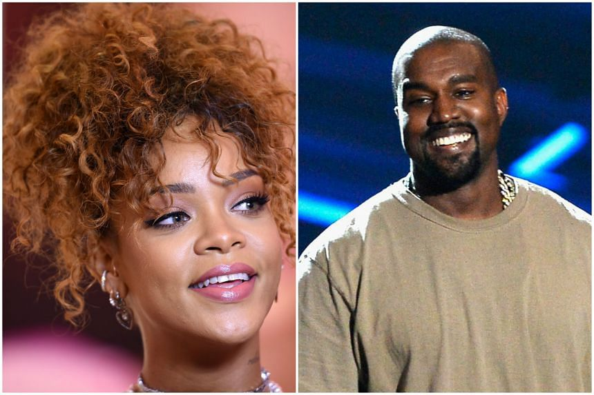 Rihanna (left) and Kanye West (right) are among the five celebrities who have teamed up to sue the Paris clothing retailer.