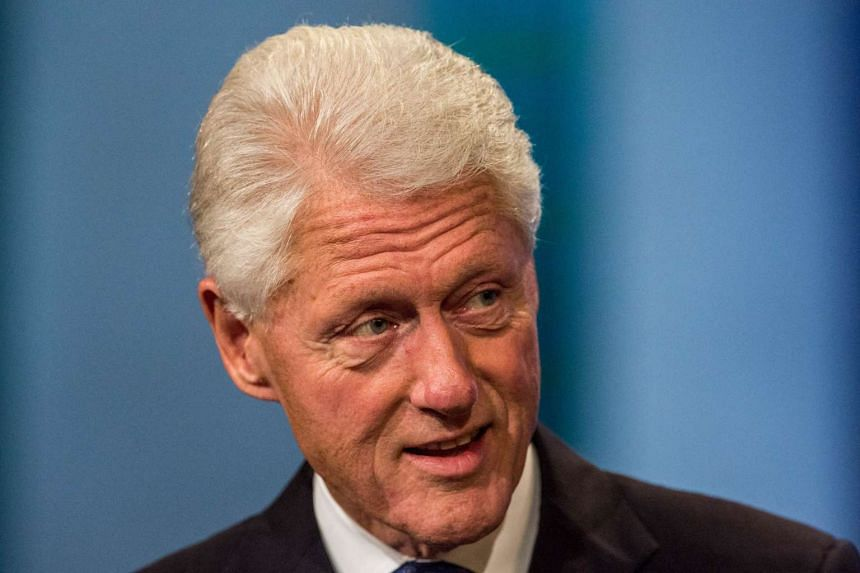 """Former United States president Bill Clinton says Republican presidential hopeful Donald Trump's current success in surveys is due to his skills as a """"master brander""""."""