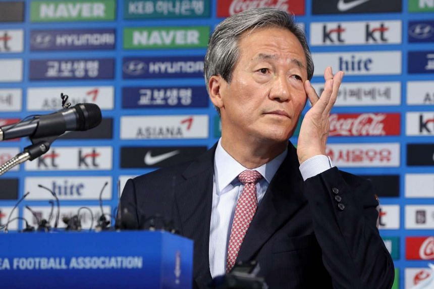 Fifa presidential candidate Chung Mong Joon accused president Sepp Blatter of trying to smear him via the body's ethics committee and said he aims to begin legal action against him.