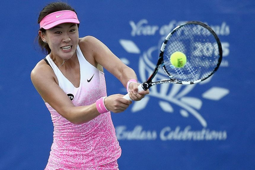 Chinese tennis starlet Zhu Lin will aim to go one better than compatriot Zheng Saisai, who lost in last year's Rising Stars final.