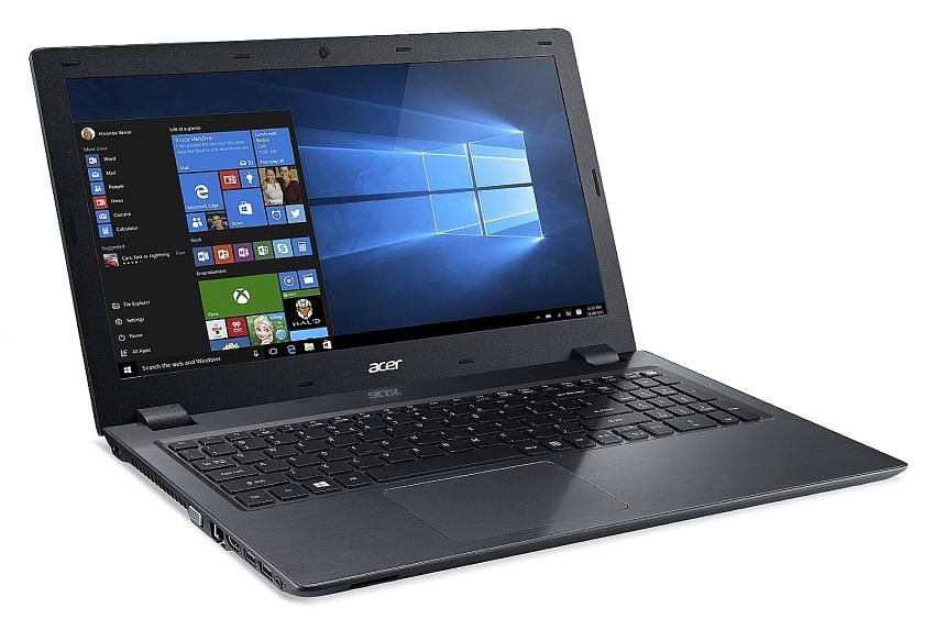 The Acer Aspire V15 is an affordable laptop that is comfortable to type on for work, and has an advanced wireless feature that enables smooth video streaming and fast transfer speeds for watching movies and running games.