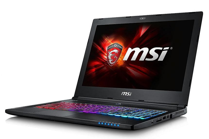 The 15.6-inch MSI GS60 Ghost Pro laptop comes with the latest advances in PC hardware, such as Intel's new sixth-generation Skylake processors.