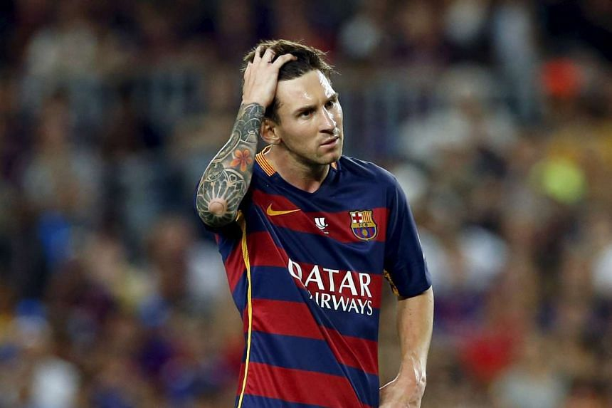 """Messi (above) blindly followed his father's """"instructions"""", say prosecutors."""