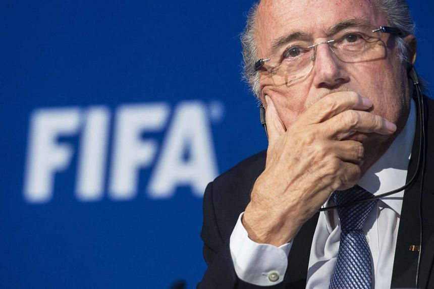 Fifa president Sepp Blatter has defended his decision not to step down sooner as the head of the world football governing body.