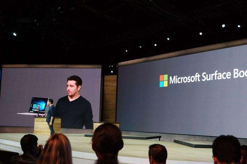 Microsoft unveiled its first-ever laptop on Tuesday, with the new Surface Book 2-in-1 hybrid.
