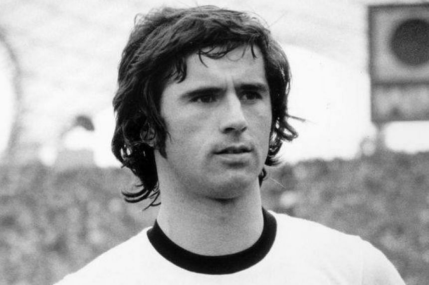 Muller was the most feared striker in world football in the 1970s.