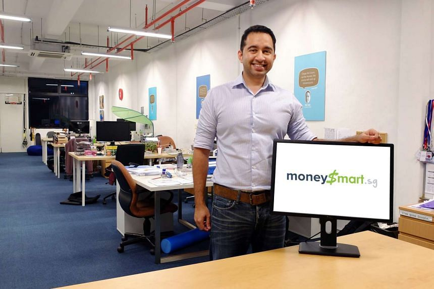 Mr Vinod Nair, founder and chief executive of MoneySmart.sg, says the start-up intends to use the funding to accelerate its growth plans in Singapore and Indonesia, and expand into one more new market.