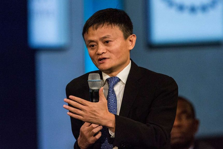 Shareholders shouldn't overreact to the decelerating economy in China, Mr Ma wrote in a letter.