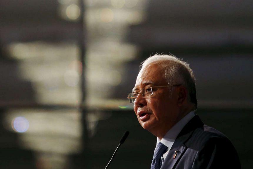 Malaysia's Prime Minister Najib Razak speaks at the Khazanah Megatrends Forum in Kuala Lumpur, Malaysia on October 6, 2015.