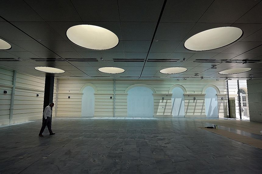 The Asian Civilisations Museum's new Khoo Teck Puat Gallery (above) will house the much-written-about Tang Shipwreck collection. The first phase of the museum's revamp will be completed on Nov 14.