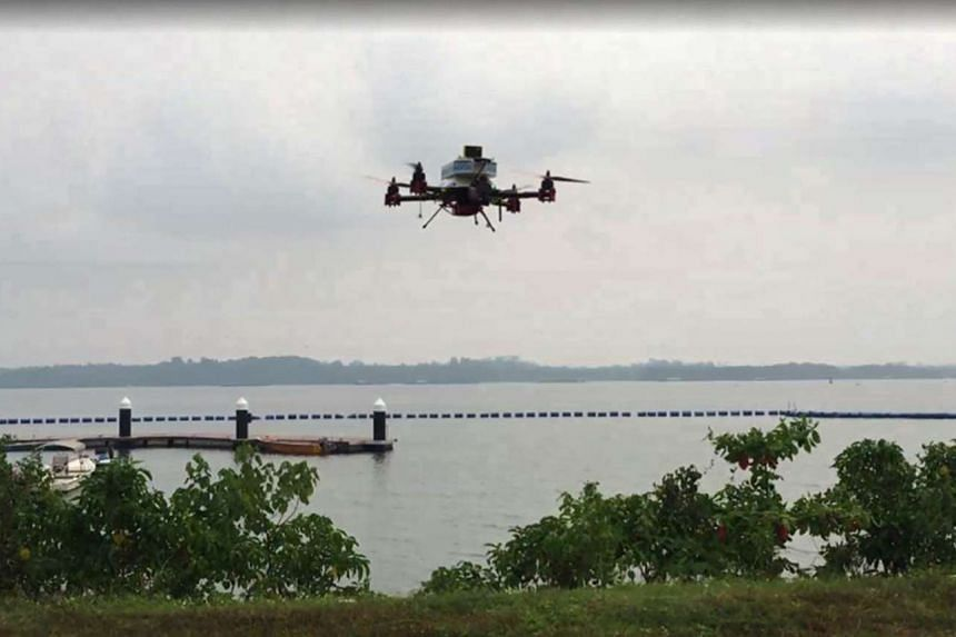 A trial to use a drone to deliver mail has been completed by SingPost and the the Infocomm Development Authority of Singapore.