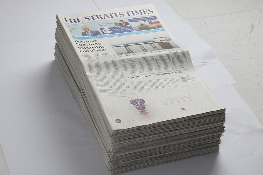 SPH has confirmed that it does not purchase any of its newsprint supplies from the five companies under probe for links to the forest fires in Indonesia.