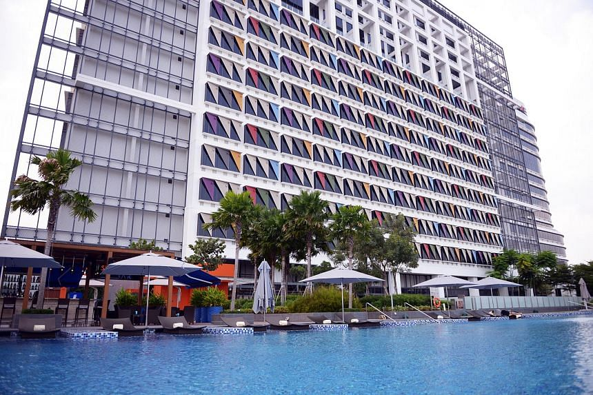 The One Farrer Hotel & Spa in Little India.