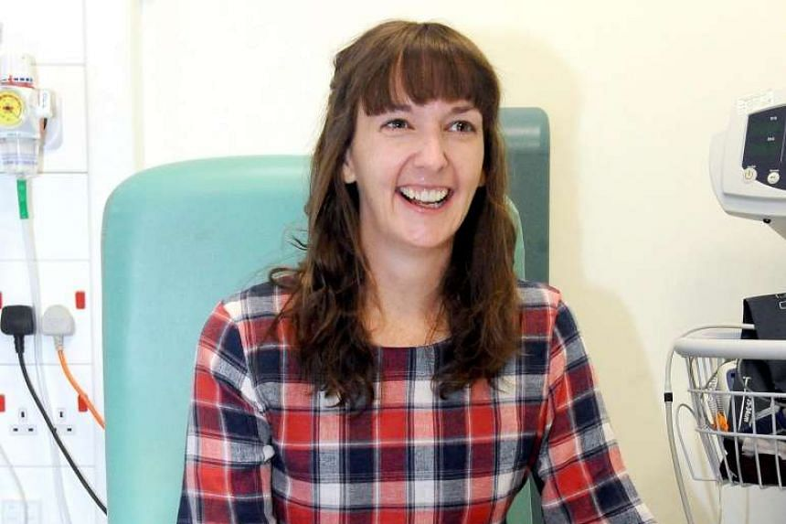 A handout picture shows Scottish healthcare worker Pauline Cafferkey at the Royal Free Hospital in London, England, Jan 24, 2015. Ms Cafferkey, the nurse who contracted Ebola while working in Sierra Leone, had made a complete recovery and been discha