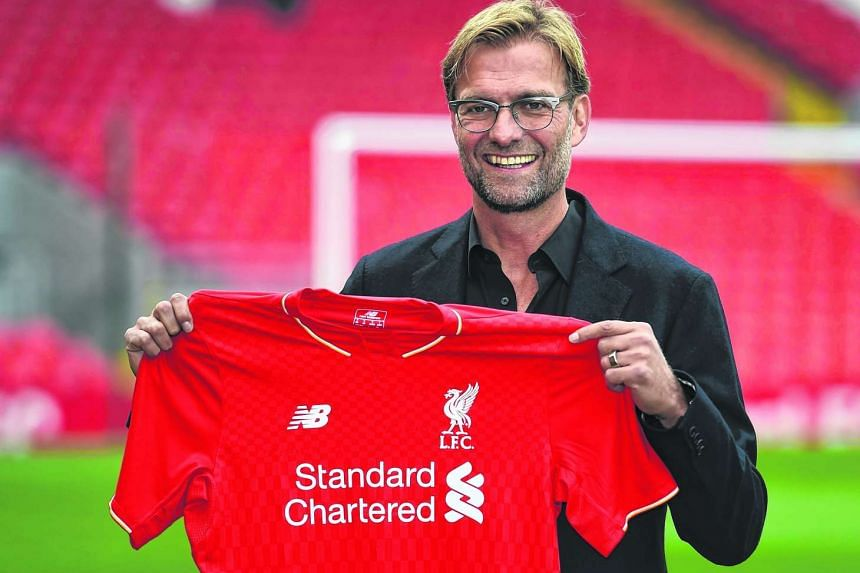 "Klopp described the Liverpool job as ""the biggest challenge... in the world of football""."