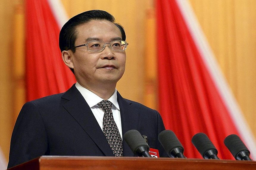 Fujian governor Su Shulin, now under investigation for suspected corruption, has been regarded as a rising star within the Communist Party leadership because of his accomplishments and relatively young age.