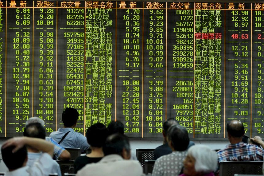 The Shanghai Composite Index rose just 3 per cent yesterday despite the market resuming from a week-long holiday.