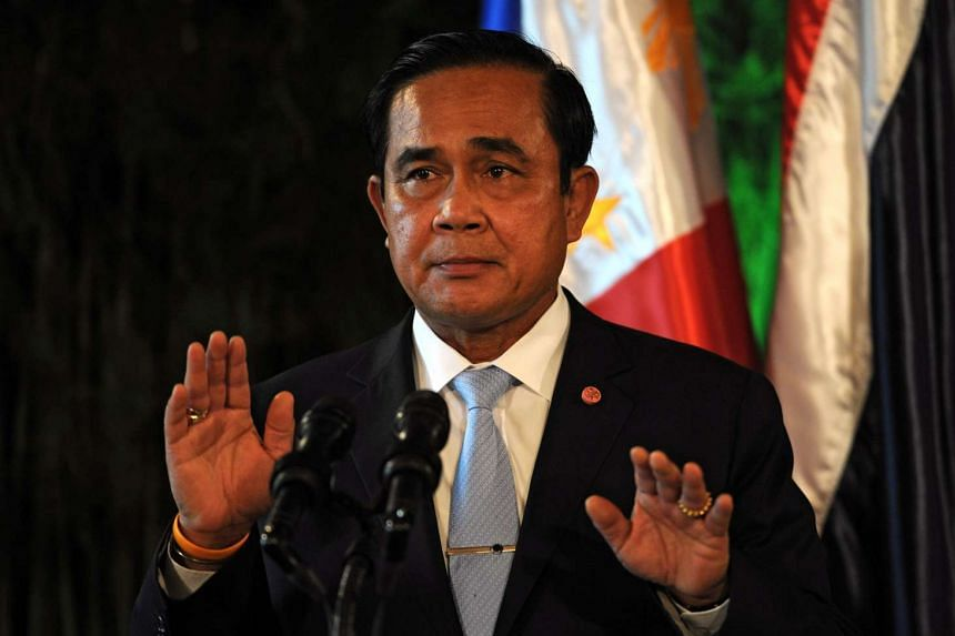 Thailand's Prime Minister Prayut Chan-O-Cha said the kingdom must counter online dissent and royal defamation.