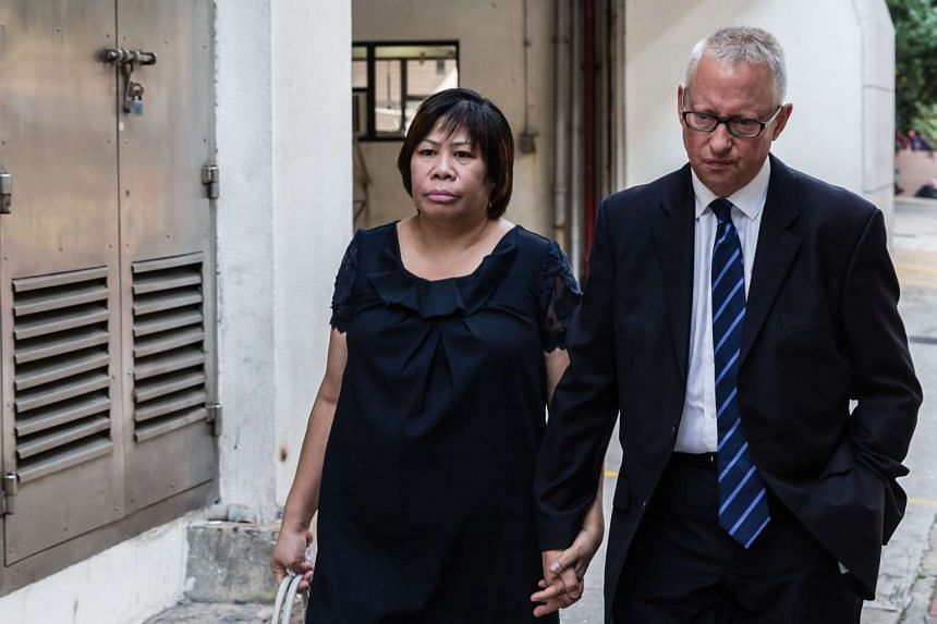 Herminia Garcia, 53, was sent to prison for a year for outstaying her permit to live in the city. Her partner, British businessman Nick Cousins, 58, was given an eight-month suspended sentence.