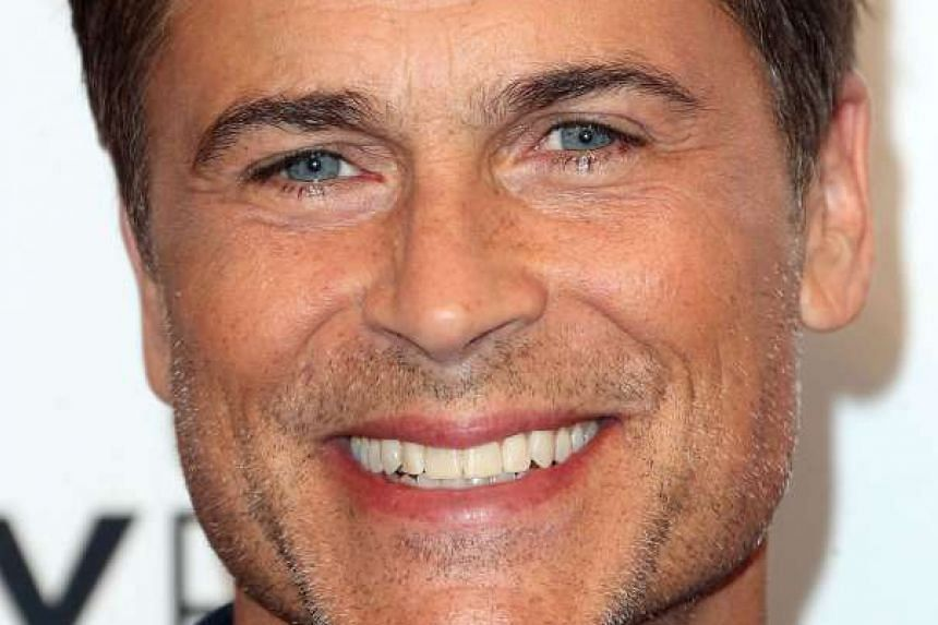 Actor Rob Lowe.