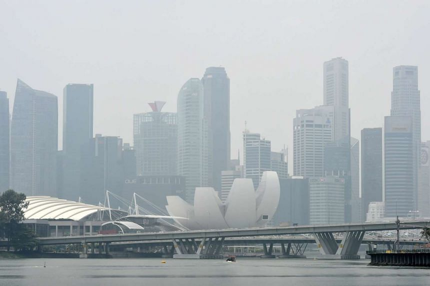 Slightly hazy conditions are expected on Sunday, Oct 11.