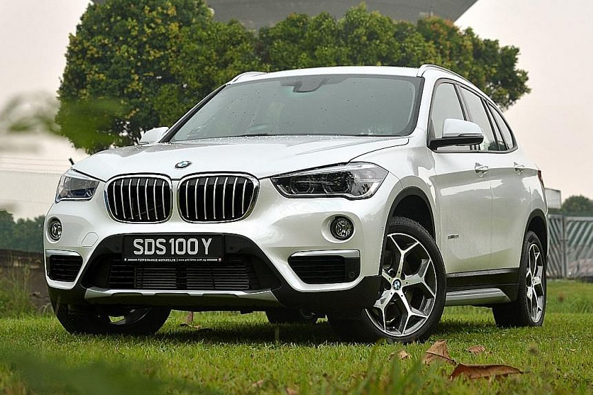 The new X1 joins a small but growing family of front-wheel-driven BMWs that includes the 2-series Active Tourer.