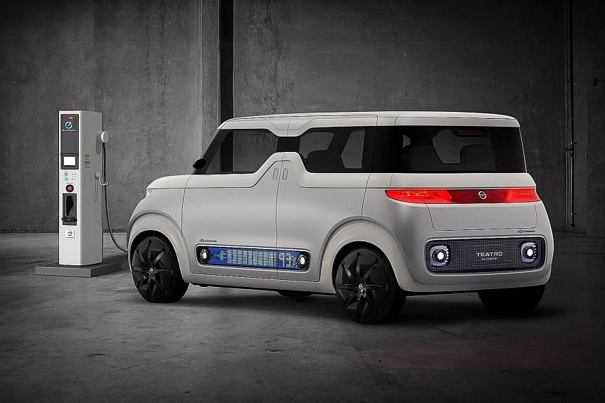 Nissan's Teatro For Dayz concept will be shown at the upcoming Tokyo Motor Show.