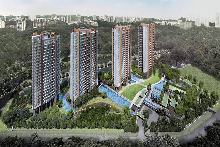 Showflats for the Principal Garden condominium (above) will be open for public viewing from next Saturday.