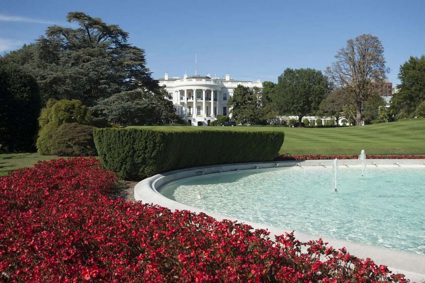 The South Lawn of the White House in Washington DC on Oct 6, 2015.