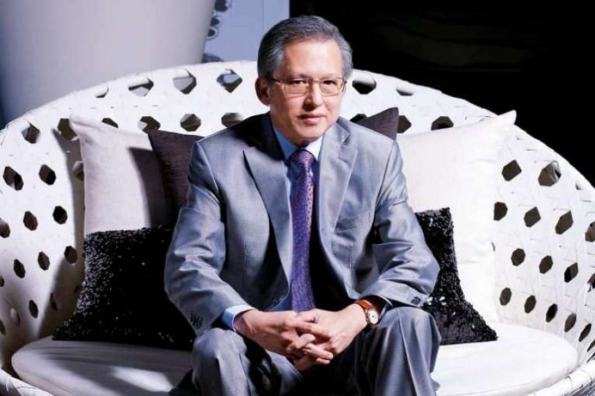 (Above) Mr Kwek Leng Beng, executive chairman of Hong Leong Group.