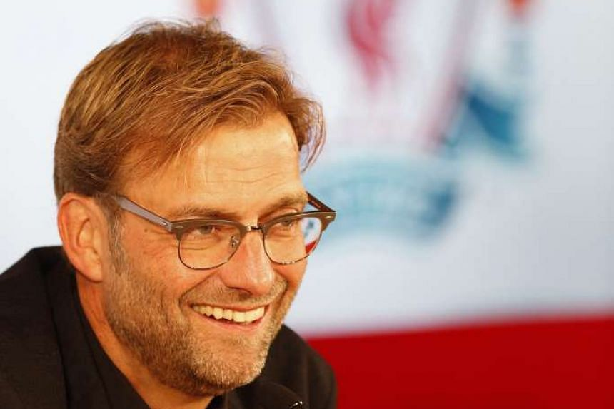 New Liverpool manager Juergen Klopp, at a press conference, will want his side to be up and running in his first league match in charge against Spurs on Oct 17.