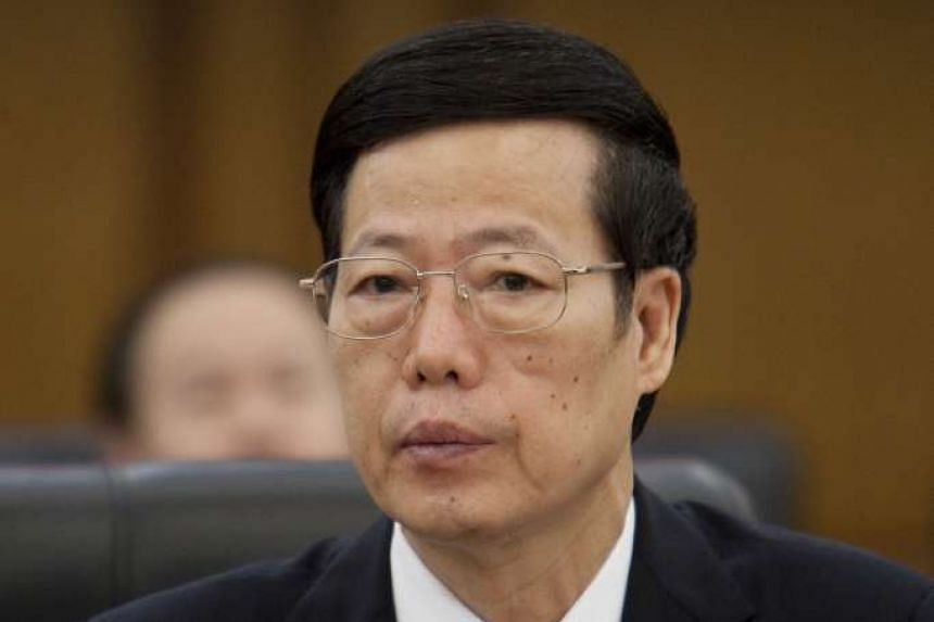 Chinese Vice-Premier Zhang Gaoli will be making an official visit to Singapore from Monday, Oct 12, 2015, to Wednesday.