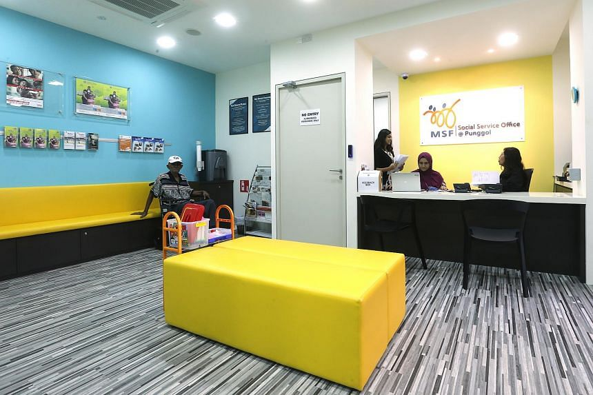 A Social Service Office in Punggol.