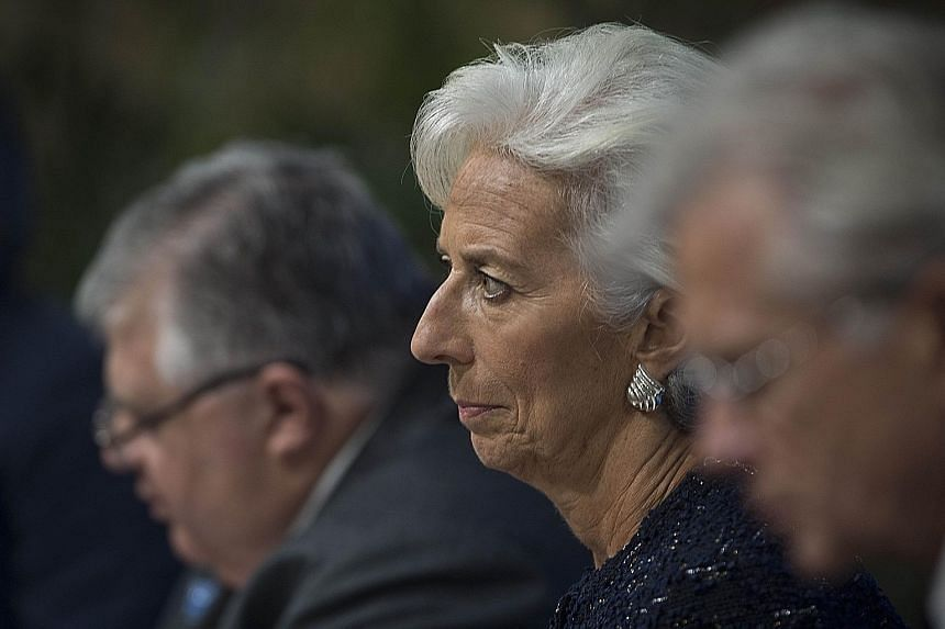 IMF head Christine Lagarde, at the fund's annual meeting in Peru on Friday, wants the US to take reforms seriously.