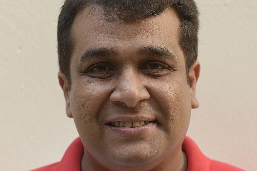 Mr Ravi Philemon had to quit his job as his employment contract barred him from contesting the general election.