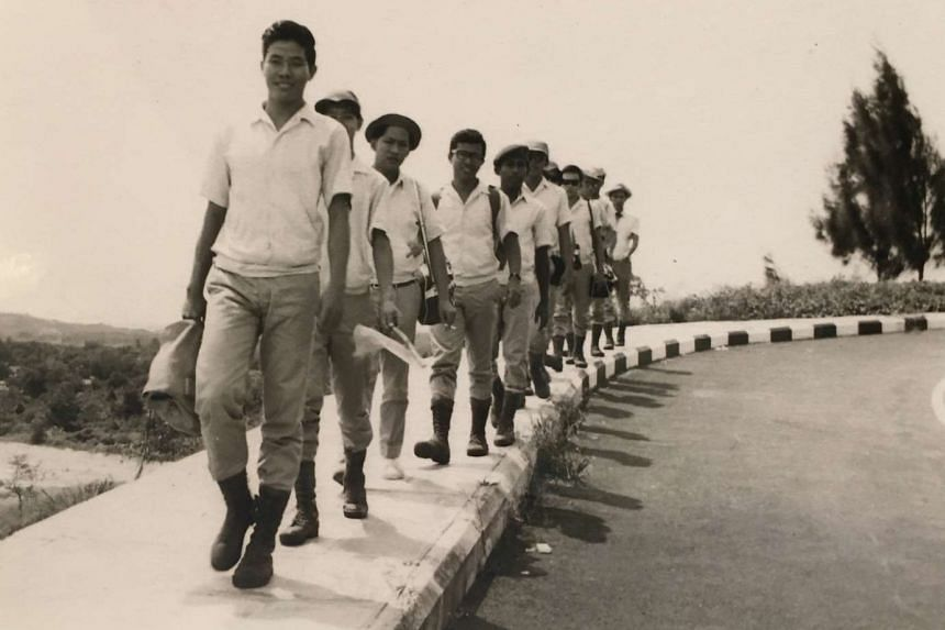 An archive photo of Mr Chan Seck Sung undergoing a leadership course. The ex-commando trainer and PA youth leader was in the pioneer batch of trainees at the former National Youth Leadership Training Institute (now National Community Leadership Insti
