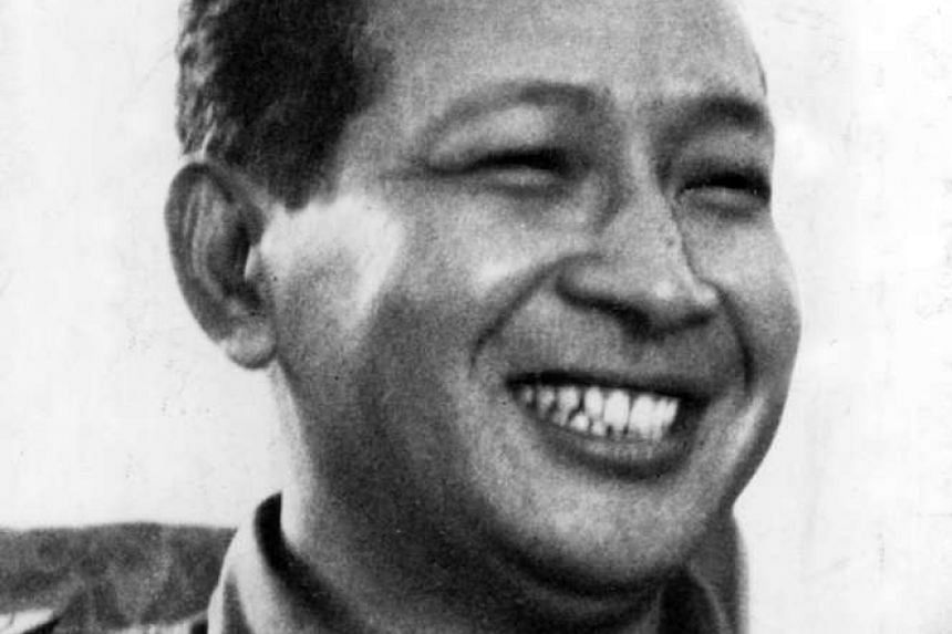 Major-General Suharto would later become president of Indonesia.