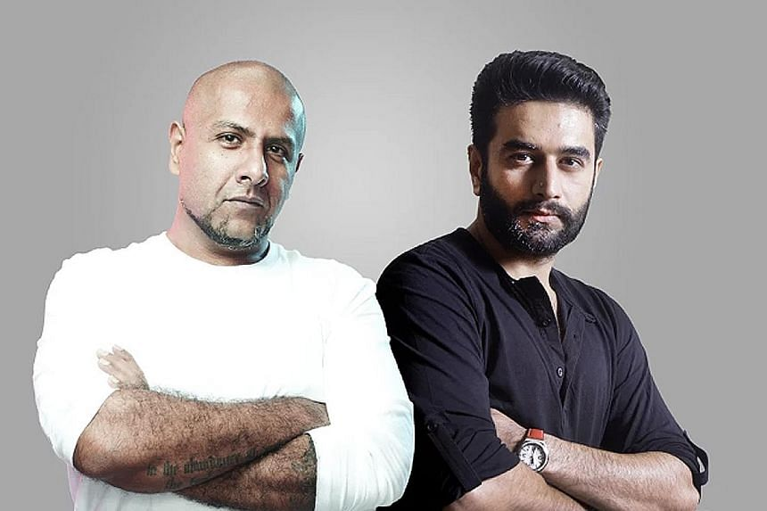 Vishal Dadlani and Shekhar Ravjiani (right) compose, write and sing their own songs.