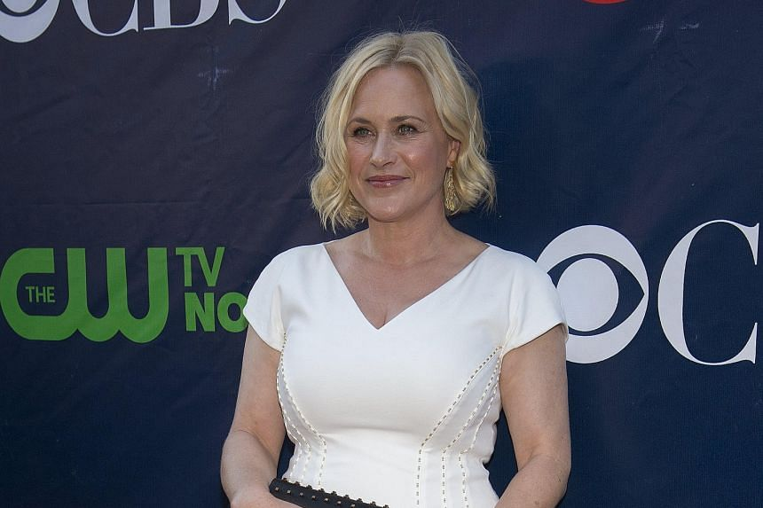 Patricia Arquette (above) says her role in CSI: Cyber is important to show young girls that women can be in leadership positions and be interested in technology.