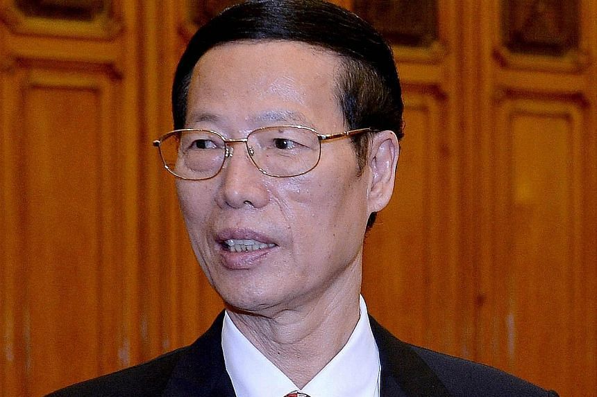 Vice-Premier Zhang Gaoli's three-day visit here is at the invitation of DPM Teo Chee Hean.