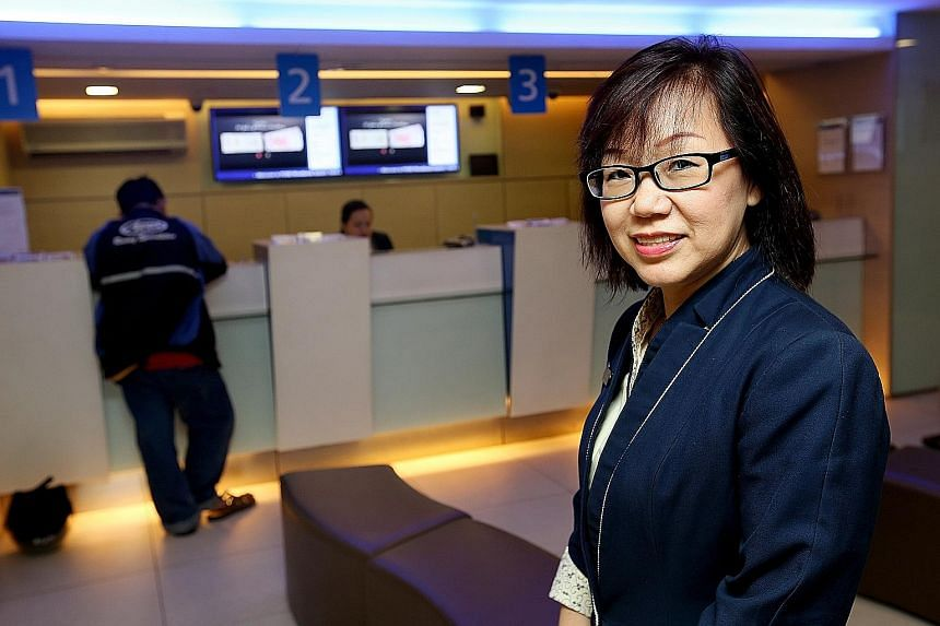POSB branch service manager Kina Neo, whose staff refer unusual customer transactions to her, has helped three bank customers from falling victim to kidnap phone scams.