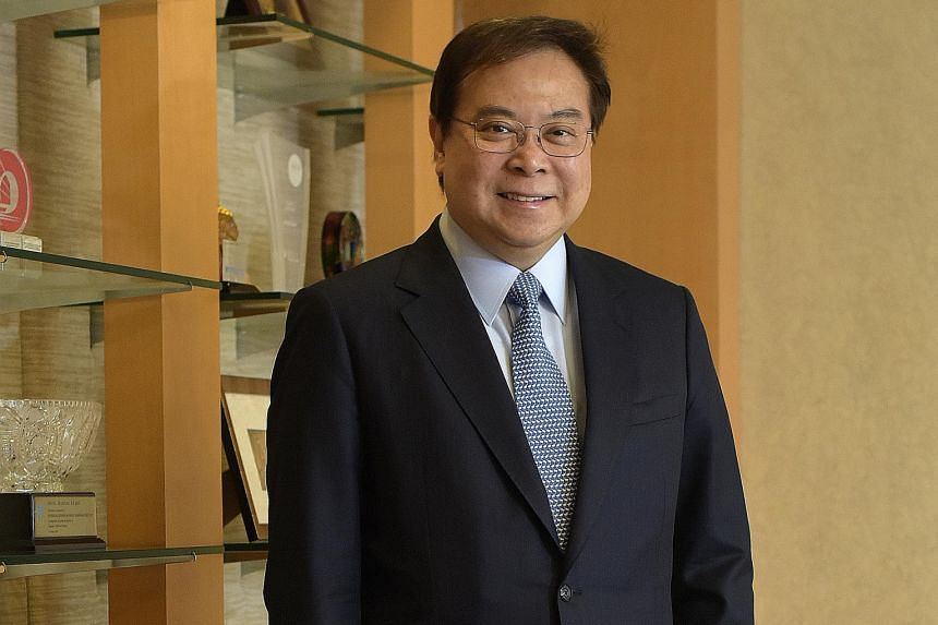 OCBC chief executive Samuel Tsien says that amid the buzz about digital banking, it is important to remember that physical banking is here to stay.